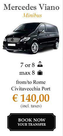 Civitavecchia port shuttle transfer service from to civitavecchia port rome downtown with - Transfer from rome to civitavecchia port ...